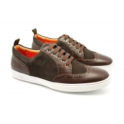 Sneakers JACK'S Buffalo Brown